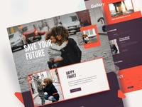 Family Care Website Design