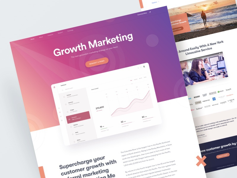 Growth Marketing    Website Design 2018 growth marketing promote ad campaign website design