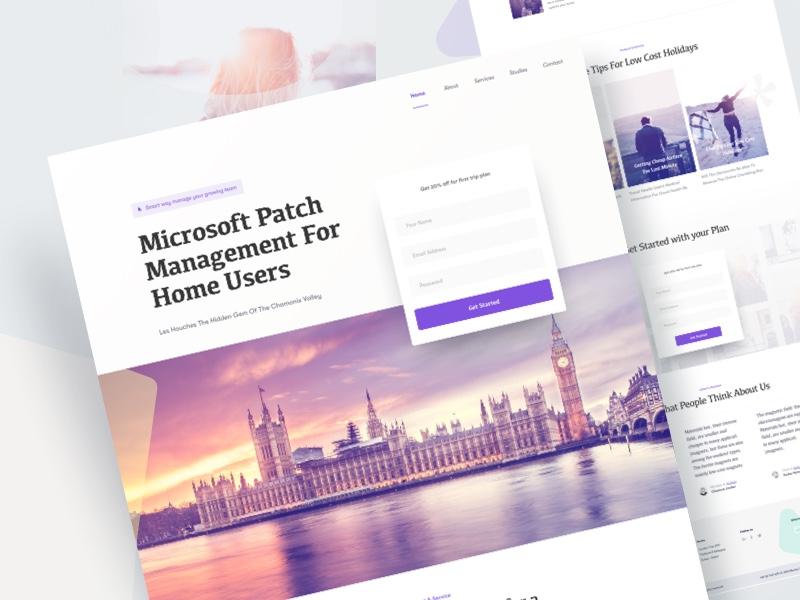 Trip solution   website design