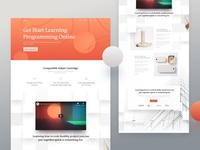 Learning Web Portal - Homepage