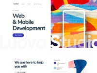Agency homepage design v2 2x