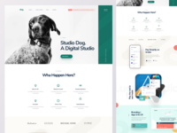 Digital Agency Homepage Design V3