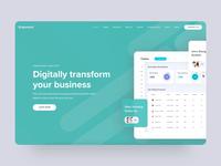 Agency Website Design (LIVE)