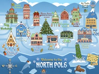 North Pole Map