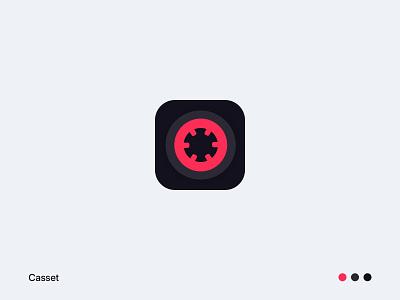 Casset spotify apple music ایران application branding logo design کاست iran android ios app music cassette