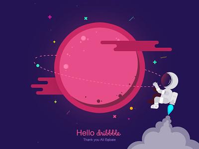 Hello Dribbble! dribbble invite