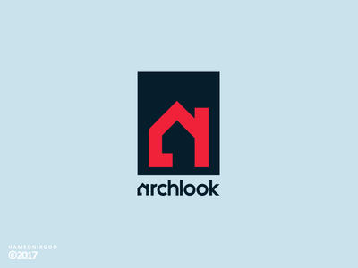 Archlook (Logo Design) logo look architecture