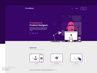 My website design ux ui web