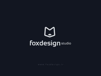 Foxdesign icon tehran iran studio desgin logo fox