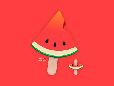 Celebrating Yalda Night ux ui سیب اپ سیباپ sibapp chelleh شب یلدا شب چله یلدا ایران watermelon icon tehran yalda night night iran yalda