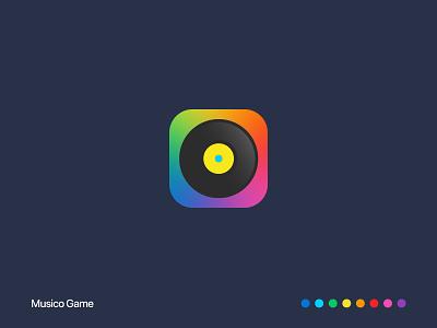 Musico Game iran ایران logo icon app sibapp cafebaazar iranian songpop game music