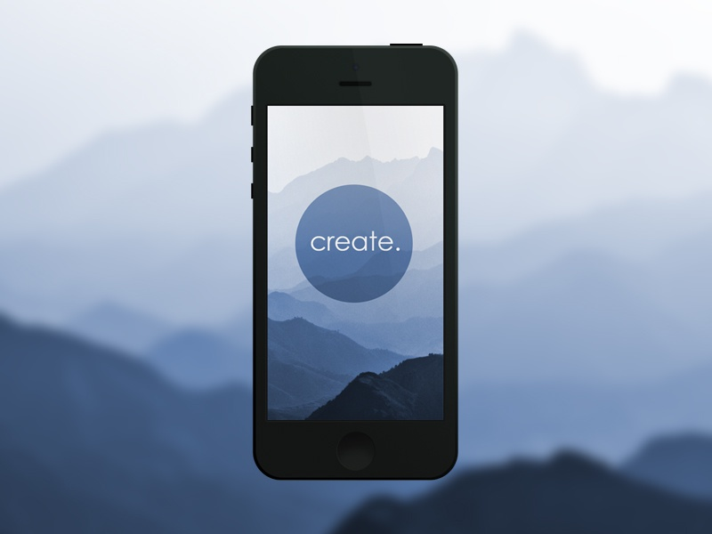 Create. (Mountains of China) iphone wallpaper china photo create mobile