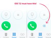 iOS 7.1 improvement