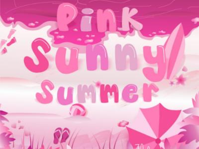 Pink Sunny Summer