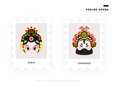Peking opera illustration
