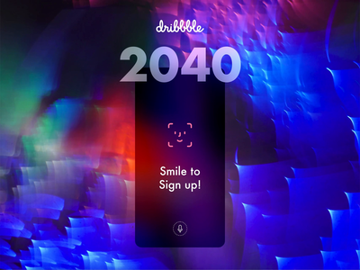 Smile to Sign up :) createwithadobexd xd animation animation prototype biometrics faceid signup ux madewithxd xd mobile