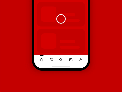 Onboarding App Menu ada accessibility usability inclusive design ux app icon menu design navbar bottom bar labels icons onboarding navigation menu navigation bar animation mobile tabbar menu