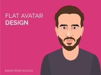 Flat Avatar Design