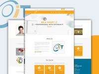 Optimum IT Web UI Design