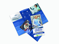 Tri-fold Brochure for  Laundry business
