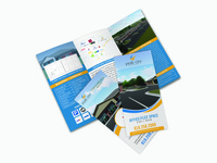Tri-fold Brochure for  Peak City Business Park