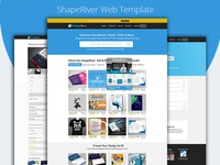 ShapeRiver Web Template