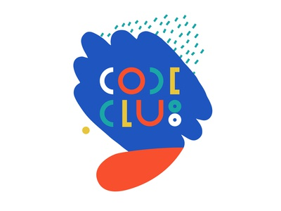 Logotype CODE CLUB for the Education Centre.