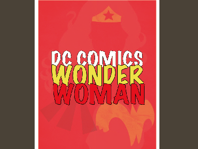 Poster heroine dc comics comics poster