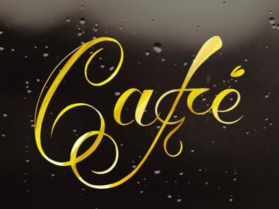 Amsterdamse Krulletter typography lettering