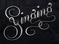 Singing (Krulletter)