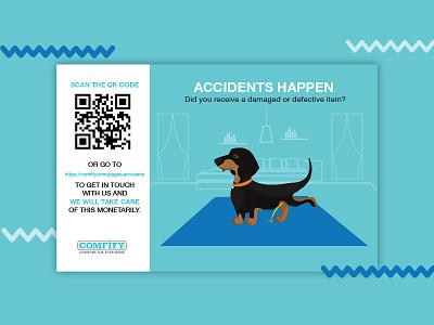 Flyer graphicdesign flat flatdesign minimalistic bluecolor blue dogillustration dog flyerdesign flyer