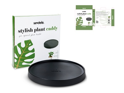 Packaging design for stylish plant caddy adobe designer boxdesign paperbox cadydesign plantcaddy design packaginngdesign packaging