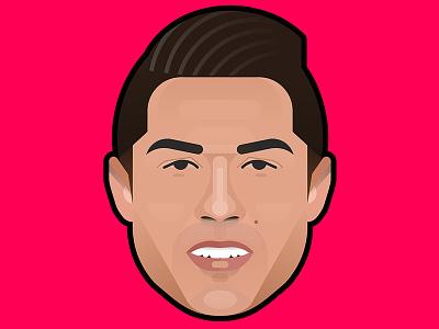 Cristiano Ronaldo portrait soccer football real madrid cristiano ronaldo cr7