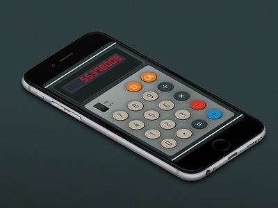 Daily UI: Calculator
