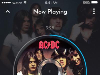 Daily UI: Music Player