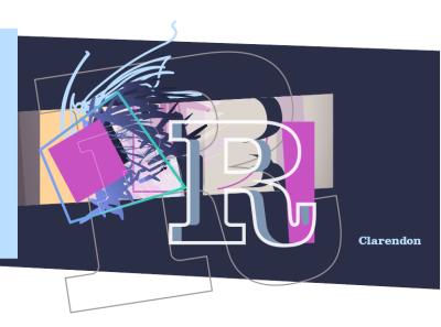Clarendon theletterr vector illustration illustration illustrator graphic design graphics typogaphy