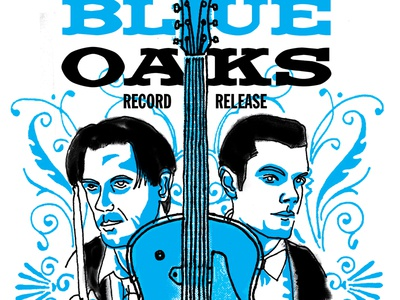 Blue Oaks poster
