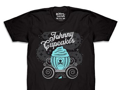 dribbble JC bibbity 3-color t-shirt johnny cupcakes cupcake princess design illustration