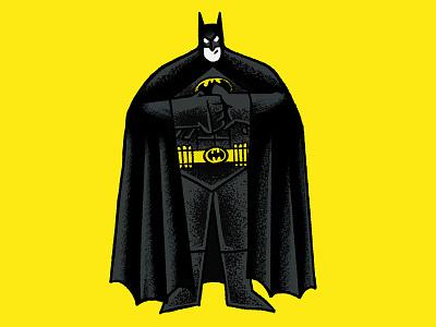 Batmaaaaan 2-color illustration comics dc comics batman