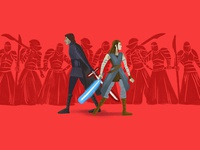 The Last Jedi illustration