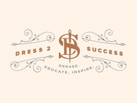 Dress 2 Success logo