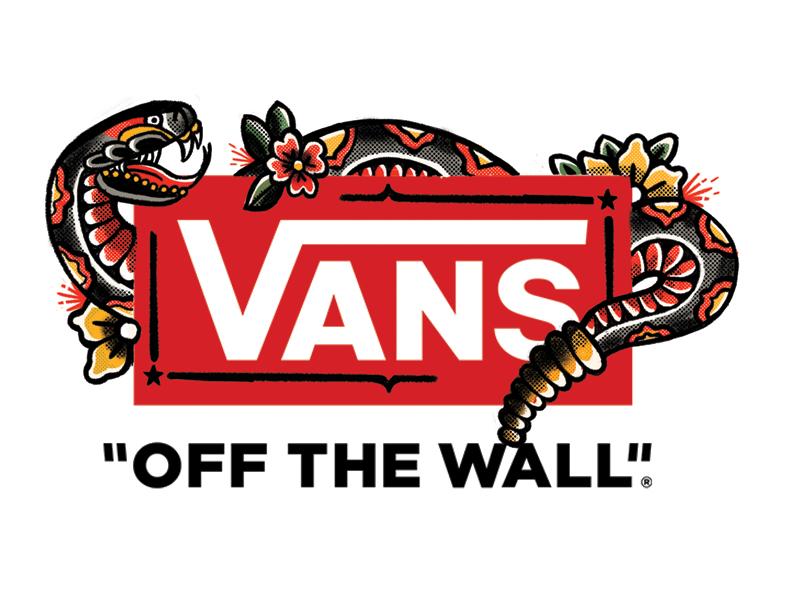 Snake Vans Logo Fan Art By Hans Bennewitz Dribbble Dribbble