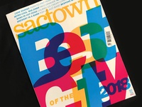 Sactown 2018 Best of the City cover