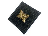 Sculpted Moth pin