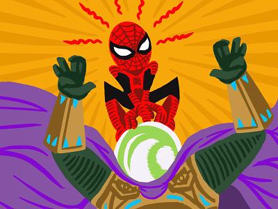 Spiderman Illustration color procreate drawing hero superhero spider-man spiderman design illustration
