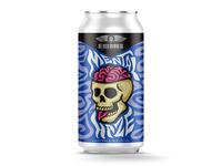 Mental Haze beer can