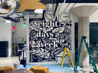 Eight Days a Week mural