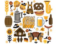 Oktoberfest illustrations