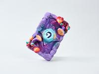 "Hearthstone ""Blushroom"" Recreate airbrush foam clay fan art game art hearthstone craft"
