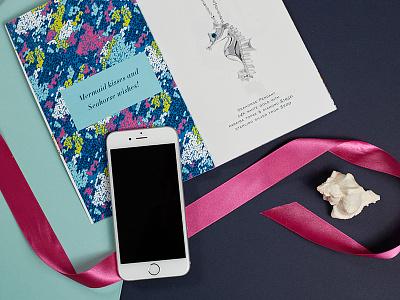 Penny James Brand and UI-mockup braizen seashore jewelry